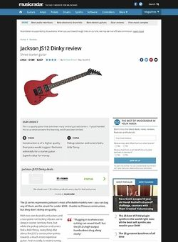 MusicRadar.com Jackson JS12 Dinky
