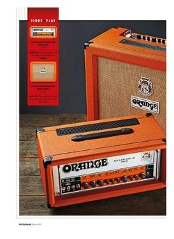 Guitarist Orange Rockerverb 100 MKIII Head