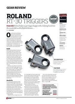 Rhythm Roland RT 30 Triggers
