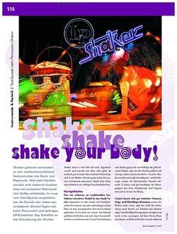 DrumHeads Instrumente & Technik: Test-Spezial Latin Percussion Shaker