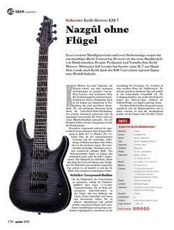 Guitar Schecter Keith Merrow KM-7