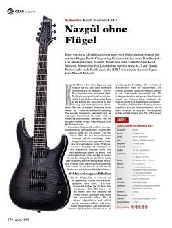 Guitar Schecter Keith Merrow KM-7