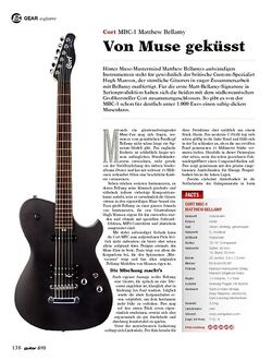 Guitar Cort MBC-1 Matthew Bellamy