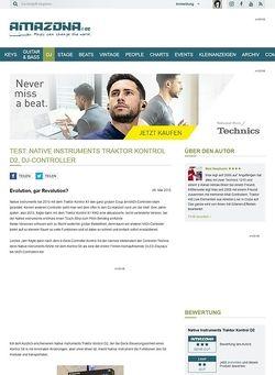 Amazona.de Test: Native Instruments Traktor Kontrol D2, DJ-Controller
