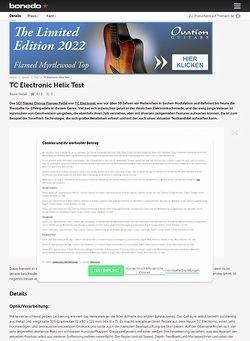 Bonedo.de TC Electronic Helix