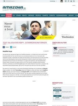 Amazona.de Test: Bluguitar AMP1, Gitarrenverstärker