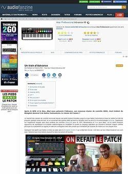 Audiofanzine.com Akai Advance 49