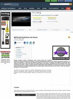 Audiofanzine.com MOTU 1248