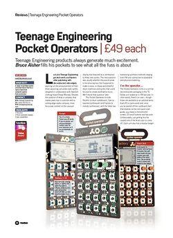 Future Music Teenage Engineering Pocket Operators