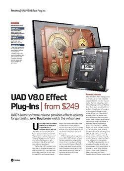 Future Music UAD V8.0 Effect Plug-Ins