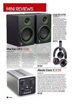 Future Music M-Audio M50 and M40 Headphones
