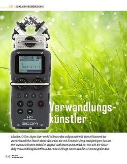 Professional Audio Zoom H-5