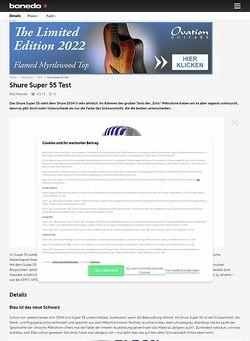Bonedo.de Shure Super 55
