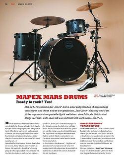 Sticks Mapex Mars Drums - Die neue Edition mit SoniClear-Gratung
