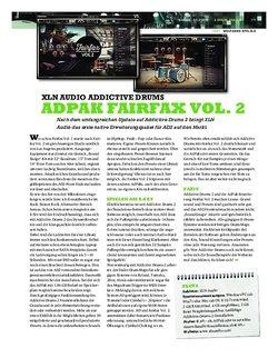 Sticks XLN Audio Addictive Drums - Adpak Fairfax Vol. 2