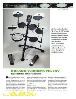 Sticks Roland V-Drums TD-1KV