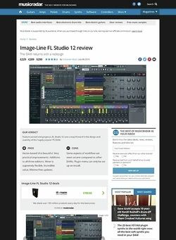 MusicRadar.com Image-Line FL Studio 12