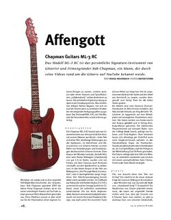 Gitarre & Bass Chapman Guitars ML-3 RC, E-Gitarre