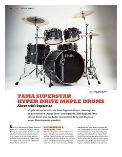 Sticks Tama Superstar Hyper Drive Maple Drums