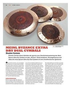 Sticks Meinl Byzance Extra Dry Dual Cymbals