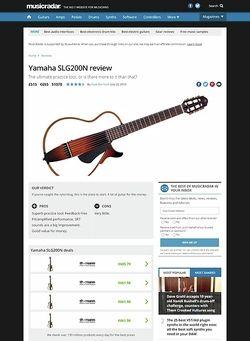 MusicRadar.com Yamaha SLG200N