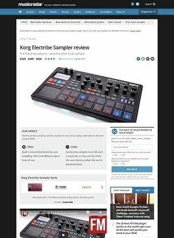 MusicRadar.com Korg Electribe Sampler