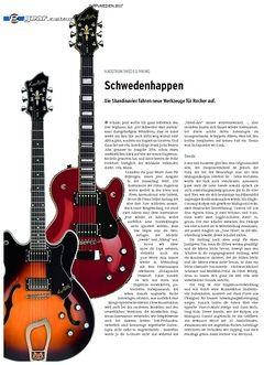 Guitar Gear E-Gitarre - Hagstrom Swede & Viking