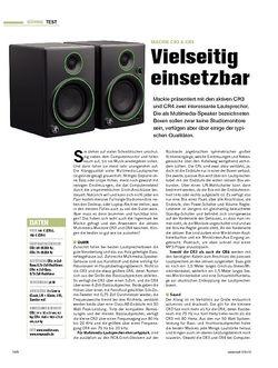 Tastenwelt Mackie CR3 & CR4