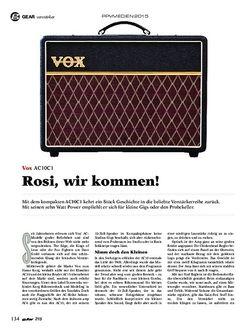 Guitar Vox AC10C1