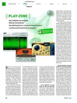 KEYS Play-Zone: Arbeiten mit virtuellen Gitarren, Teil 3