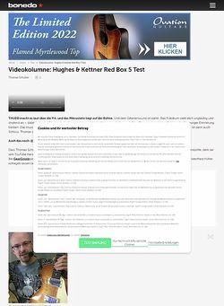 Bonedo.de Videokolumne #57: Mikrofonie-Desaster-Verhinderer