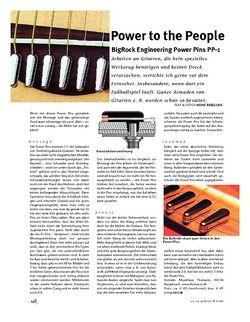 Gitarre & Bass BigRock Engineering Power Pins PP-1