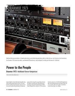 Sound & Recording Drawmer 1973 - Multiband-Stereo-Kompressor