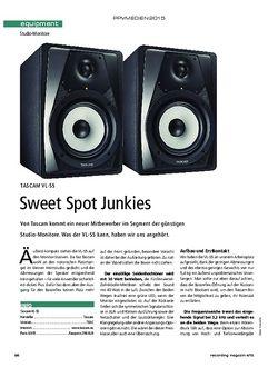 Recording Magazin Tascam VL-S5