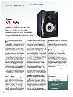KEYS Tascam VL-S5