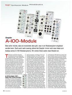 KEYS Doepfer A-100-Module