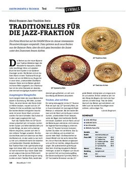 Drumheads Meinl Byzance Jazz Tradition Serie