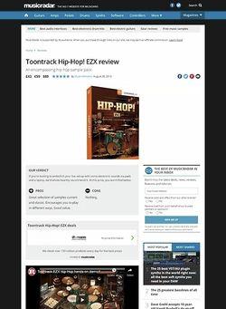 MusicRadar.com Toontrack Hip-Hop! EZX