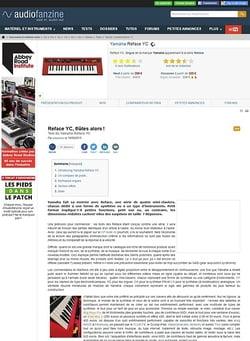 Audiofanzine.com Yamaha Reface YC