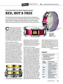 Drumheads Pearl Chad Smith Ltd. Edition Signature Snares