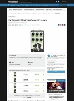 MusicRadar.com Earthquaker Devices Afterneath