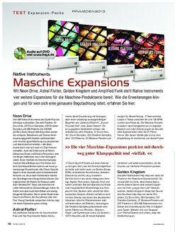 KEYS Native Instruments Maschine Expansions
