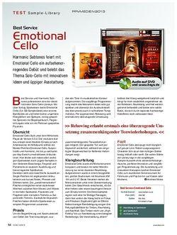 KEYS Best Service Emotional Cello