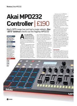 Future Music Akai MPD232