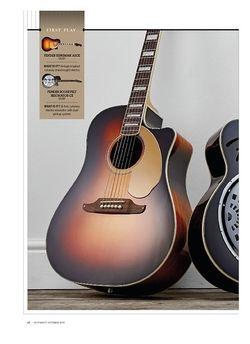 Guitarist Fender Kingman ASCE + Roosevelt Resonator