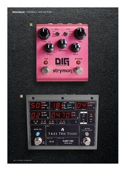 Guitarist Strymon Dig Dual Digital Delay