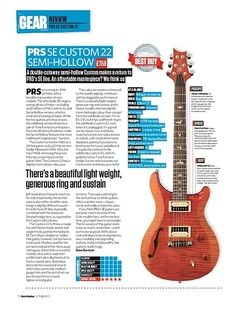 Total Guitar PRS SE Custom 22 Semi-Hollow