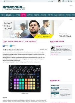 Amazona.de Test: Novation Circuit, Groovebox