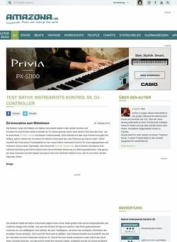 Amazona.de Test: Native Instruments Kontrol S5, DJ-Controller