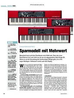 tastenwelt Clavia Nord Electro 5